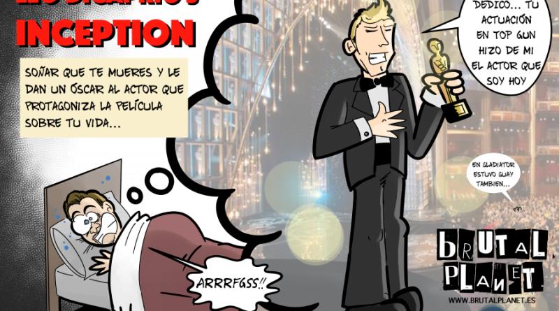 Leonardo Dicaprio Inception: El Óscar llega ya seguro!!