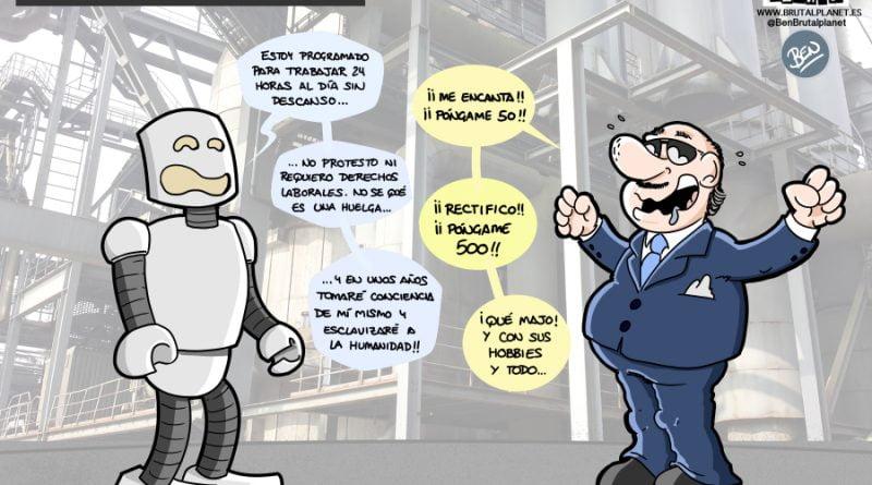 En 30 años, la mitad de los empleos serán ocupados por Robots