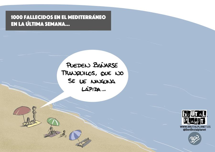 Motivos para no dormir: 1000 muertos en el Mediterráneo en una semana