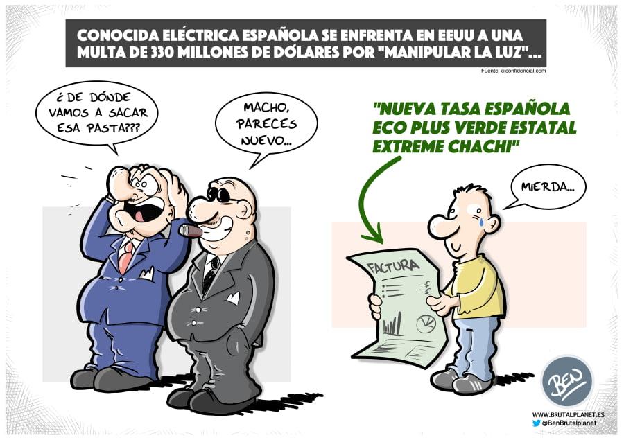 Conocida eléctrica española se enfrenta a multa en EEUU por manipular la luz