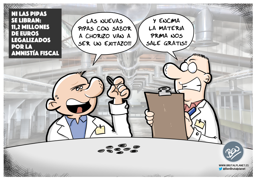 """Ni las pipas se libran: una conocida empresa de pipas aparece en los """"Papeles de Castellana"""" con 11,2 millones de euros legalizados por la Amnistía Fiscal."""