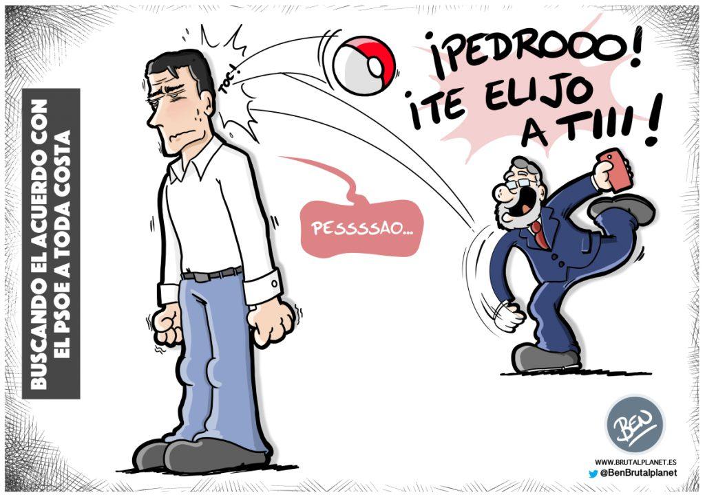 Buscando el acuerdo con el PSOE a toda costa