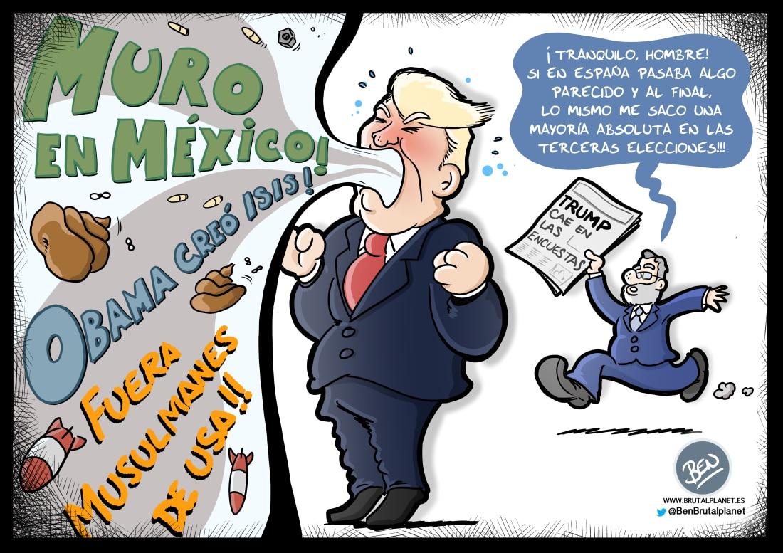 Trump desinflándose