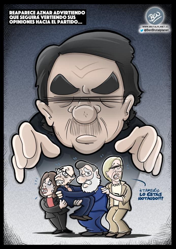Aznar returns