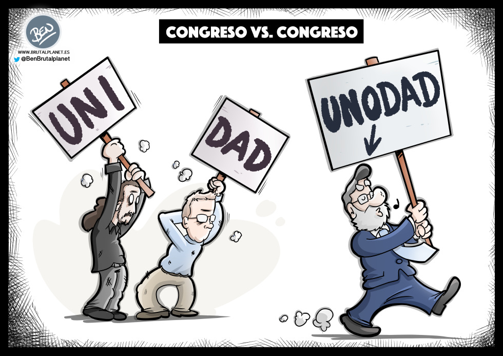 Congreso Vistalegre Vs. Congreso PP