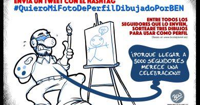 #QuieroMiFotoDePerfilDibujadoPorBEN