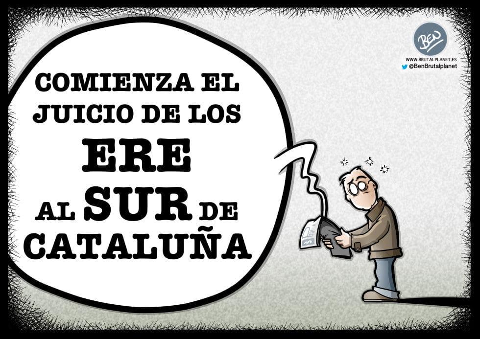Comienza el juicio de los ERE de Andalucía al Sur de Cataluña