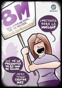 8M - Huelga Feminista