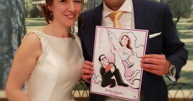 Caricatura personalizada - Un regalo de boda 4