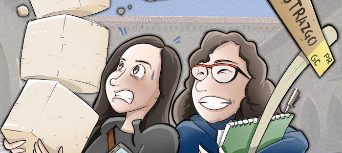 Ilustración Caricatura Personalizada - Compañeras de trabajo 0
