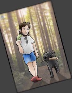 Ilustración Caricatura personalizada - Tu Vida en Cómic