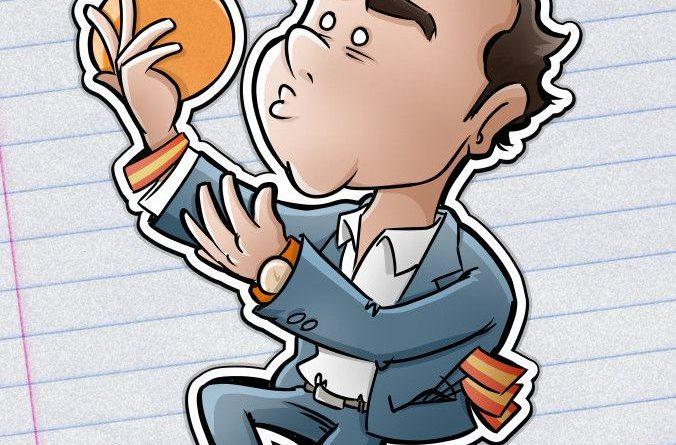 Benatina Caricatura Albert Rivera