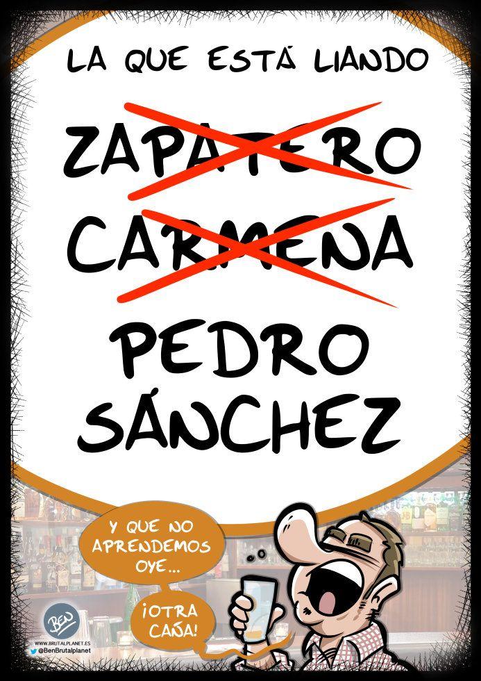 La que está liando - viñeta - humor gráfico - tuvidaencomic.com