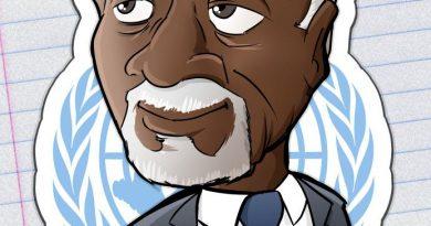 Mi tributo a Kofi Annan. DEP – BENatinas 6