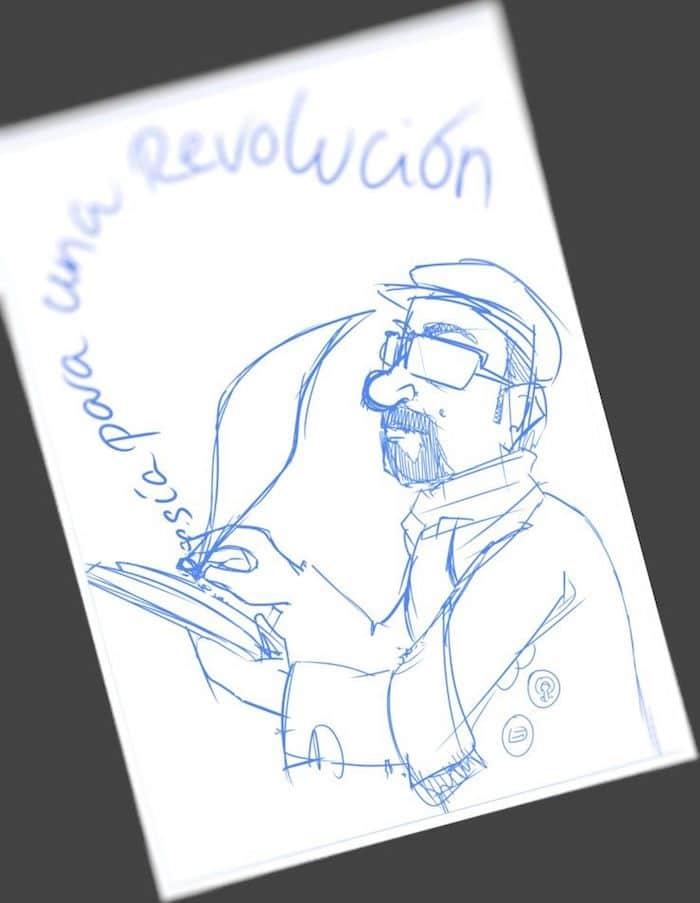 Tu Vida En Cómic - Ilustración Caricatura personalizada Poesía - tuvidaencomic.com 1