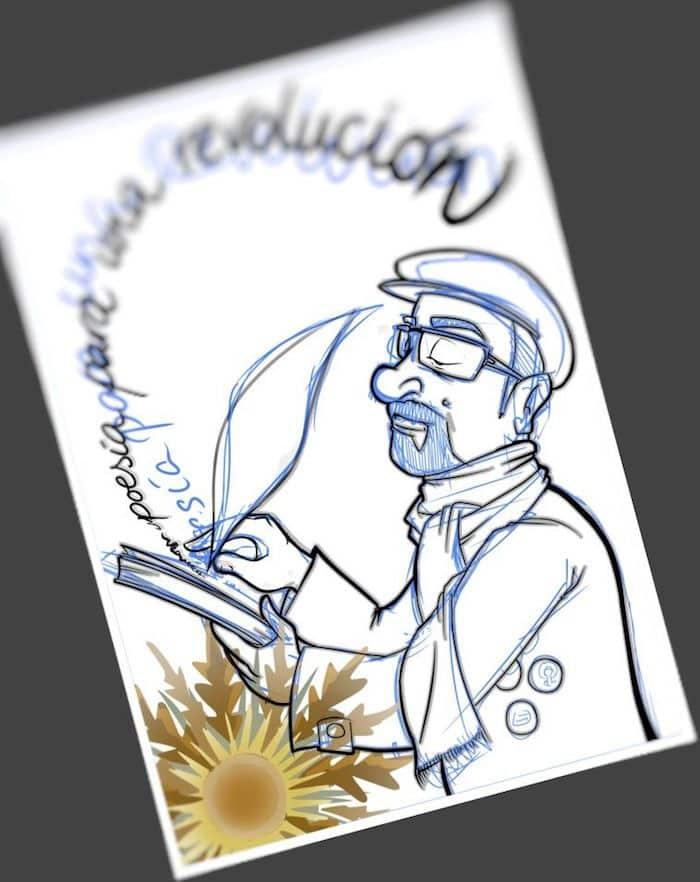 Tu Vida En Cómic - Ilustración Caricatura personalizada Poesía - tuvidaencomic.com 3