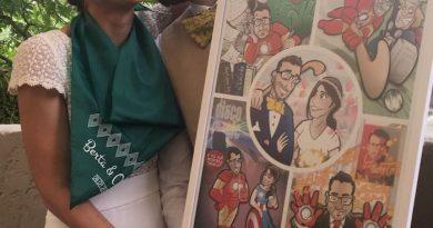 Cómic personalizado - Una historia de amor con superhéroes - tuvidaencomiccom - Tu Vida En Cómic - Resultado final
