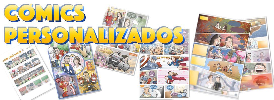 Cómics Personalizados Banner - tuvidaencomic.com