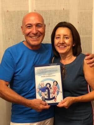 Caricatura personalizada - regalo de jubilación - tuvidaencomic.com Reducido Pequeño