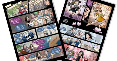Cómic Personalizado - You Shook me all night long - tuvidaencomic.com - BEN - Páginas