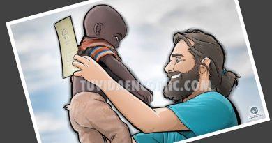 Caricatura Ilustración Personalizada - regalo para el médico de Etiopía 3
