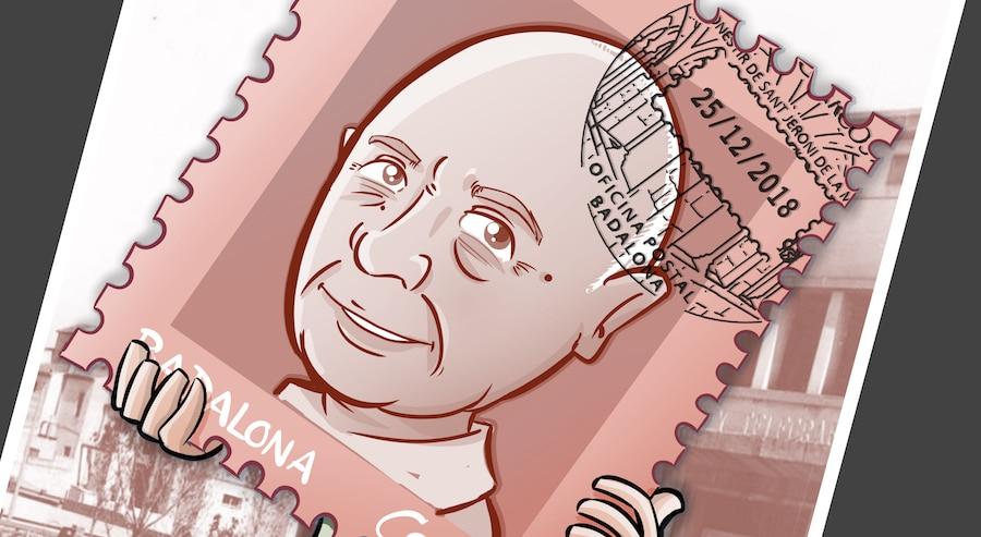 Caricatura Personalizada - sello personalizado - Regalo de Jubilación Correos - tuvidaencomic.com - BEN - 0