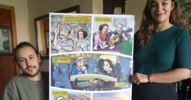 Ilustración : Cómic Personalizado - Historias de pareja - resultado final impreso