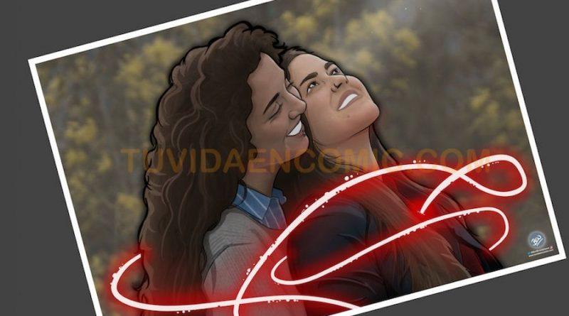 Foto Ilustración Personalizada - El Hilo Rojo - tuvidaencomic.com - BEN 4