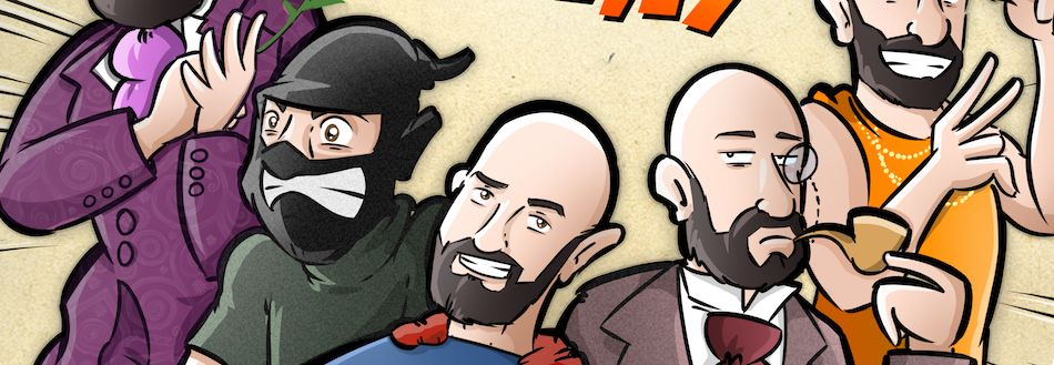 Ilustración Personalizada - Portada de cómic - personalidades - caricatura personalizada - tuvidaencomic.com - BEN - 0