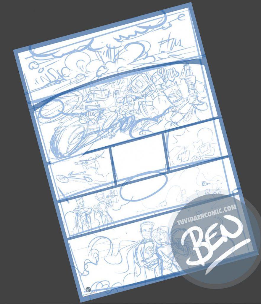 Cómic personalizado - Una historia de amor, superhéroes y máquinas de diagnóstico que toman conciencia de sí mismas - Ilustración - Caricatura personalizada - tuvidaencomic.com - BEN - 1