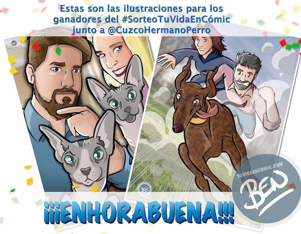 Regalo #SorteoTuVidaEnCómic - tuvidaencomic.com - BEN - Cuzco Hermano Perro 0