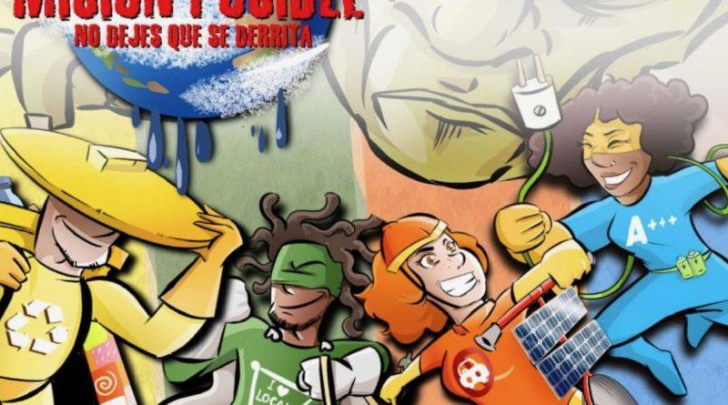Campaña Cruz Roja y coMsentido - día internacional medio ambiente - tuvidaencomic - Brutalplanet - Borja Ben - 1
