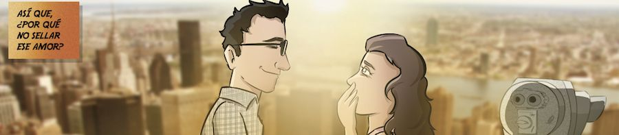 """Cómic personalizado - """"La aventura de vida de Juan y Auri"""" - Regalo de boda - www.tuvidaencomic.com - BEN - Regalo de boda original - 3"""