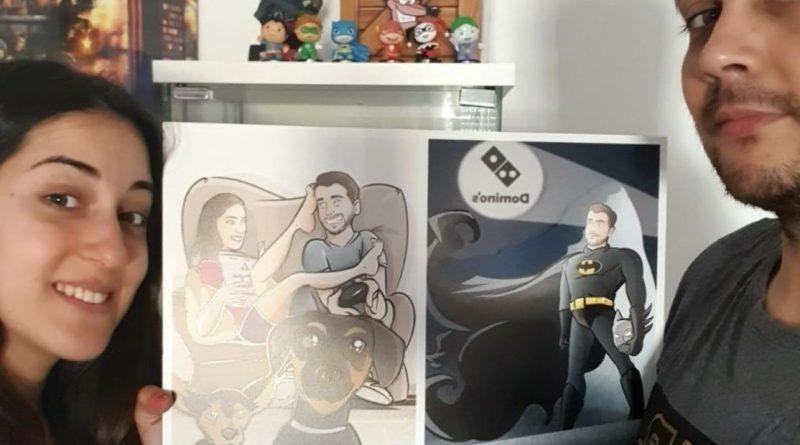 """Composición de Ilustraciones - """"Estos somos nosotros"""" - Caricatura personalizada - Testimonio"""