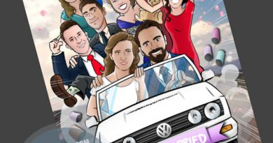 Ilustración grupal personalizada - Nos vamos de boda - Caricatura grupal - tuvidaencomic.com - BEN - 4