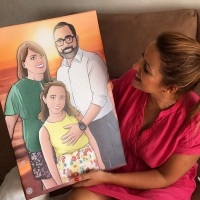 Ilustración personalizada - Caricatura familiar - www.tuvidaencomic.com - BEN - Regalo familiar - Regalo original - TESTIMONIO