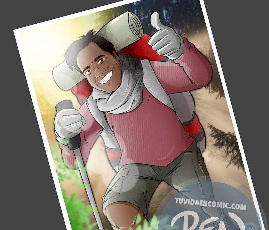 Caricatura personalizada - Regalo original entre amigos - www.tuvidaencomic.com - BEN - 5