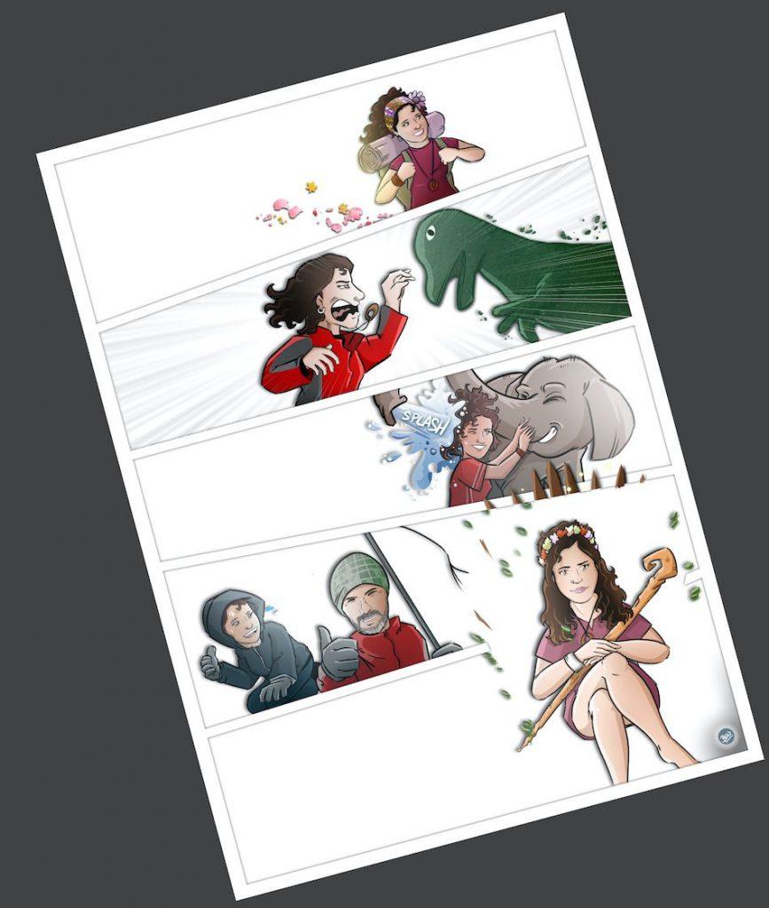 Cómic personalizado - Cambiando el mundo - www.tuvidaencomic.com - BEN - Tu Vida en Cómic - Caricatura personalizada - 4