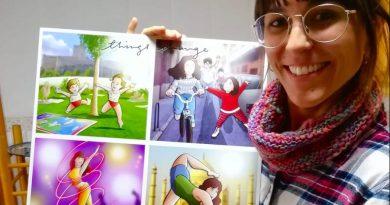 """Composición de Ilustraciones - """"Things Change"""" - Regalo personalizado familiar - www.tuvidaencomic.com - Tu Vida en Cómic - Regalo Personalizado - BEN - Caricatura personalizada - TESTMONIO"""
