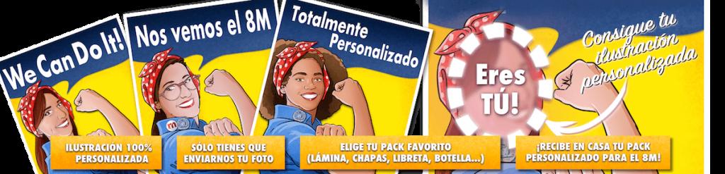 BANNER_Empoderizate-tuvidaencomic.com_empoderizate.es_ilustración personalizada_ilustración feminista
