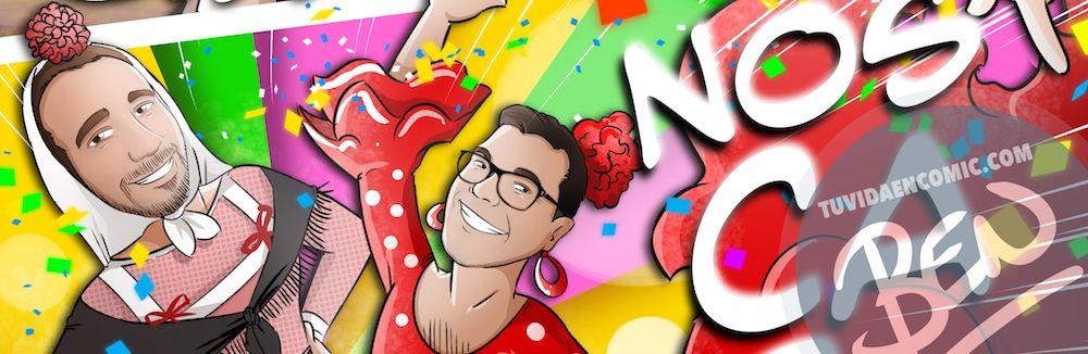 Invitación de boda personalizada tipo cómic - Invitaciones de boda personalizadas - bodas originales - Tu Vida en Cómic - www.tuvidaencomic.com - BEN - 4
