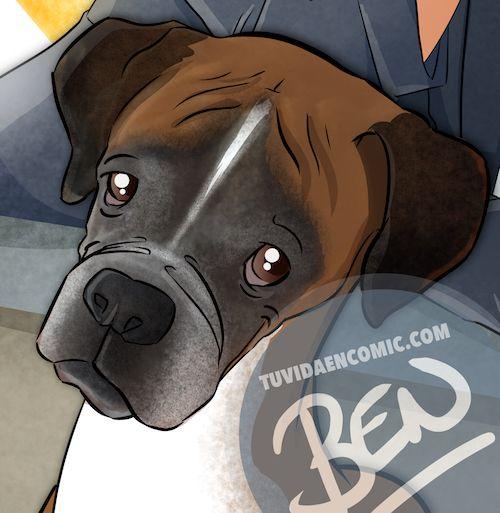 Regalo de cumpleaños personalizado - Caricatura Familiar - www.tuvidaencomic.com - Tu Vida en Cómic - Caricaturas Personalizadas - BEN - Regalo de cumpleaños original - 5