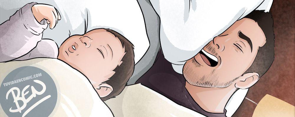 Regalo del día del Padre personalizado - Momentos de Padre e hijo - Composición de ilustraciones - www.tuvidaencomic.com - Tu Vida en Cómic - BEN - Caricaturas personalizadas - Regalos Personalizados - 0