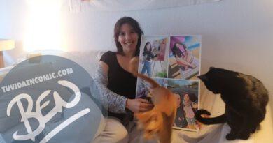 """Composición de ilustraciones """"Con estos ojos veo a mi pareja"""" – Regalo de cumpleaños romántico - www.tuvidaencomic.com - Borja_Ben_ART - Regalos románticos - Testimonio 3"""