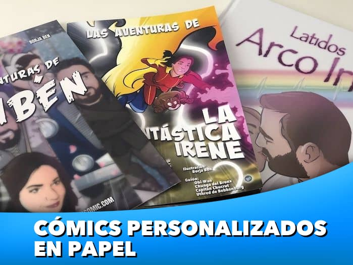 4 - Cómics personalizados en papel - www.tuvidaencomic.com