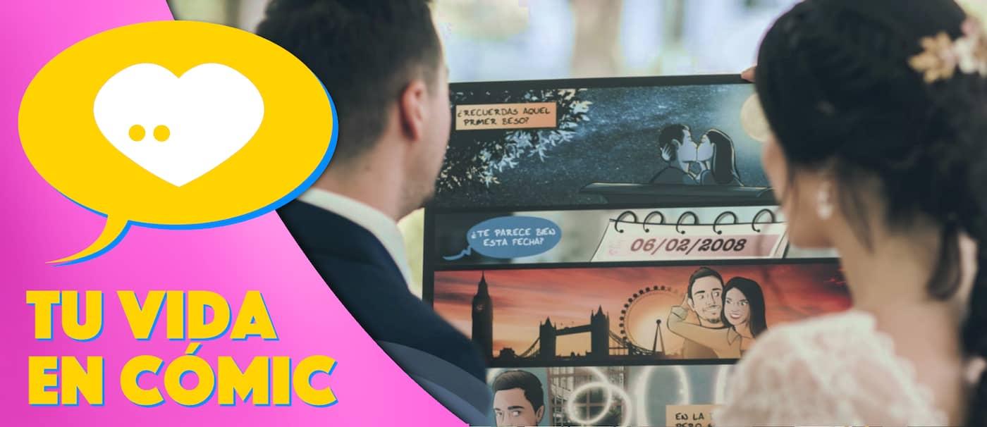 Tu Vida en Cómic - Slider - Destacado 7 - Regalos de boda originales y personalizados tipo cómic - caricatura de boda